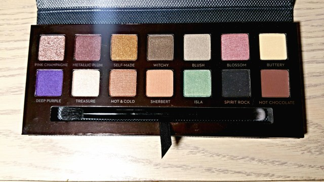 Anastasia Beverly Hills Self Made Eyeshadow Palette: Pink Champagne Deep Purple, Metallic Plum Self-Made, Hot & Cold, Witch, Sherbet, Blush, Isla, Blossom, Spirit Rock, Hot Chocolate