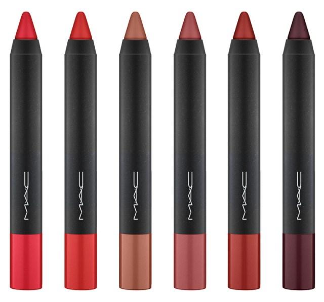 MAC Velvetease Lip Pencils for December 2015