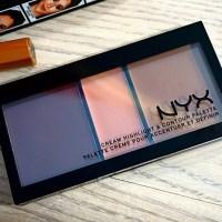 NYX Cream Highlight & Contour Palette Review