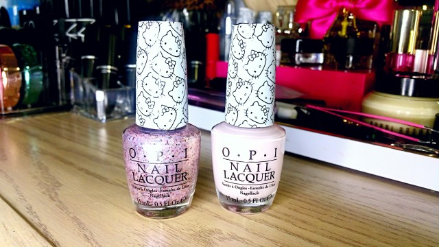 OPI Hello Kitty Let's Be Friends, Charmmy & Sugar Nail Polish
