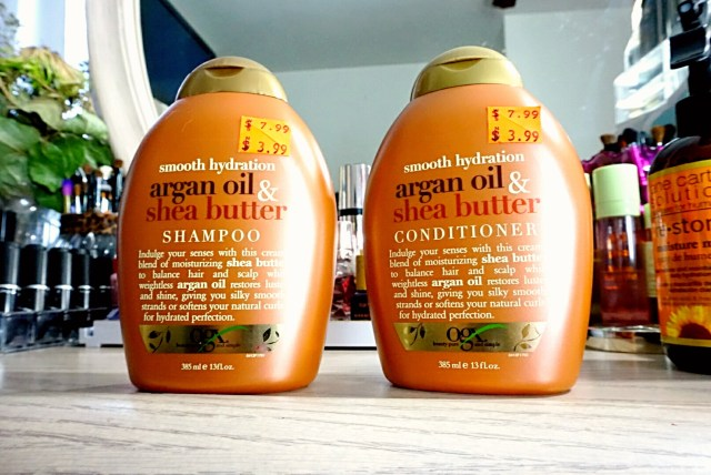 OGX Smooth Hydration Argan Oil & Shea Butter Shampoo & Conditioner