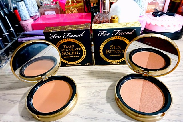 Too Faced Sun Bunny Natural Bronzer, Dark Chocolate Soleil Deep/Tan Matte Bronzer