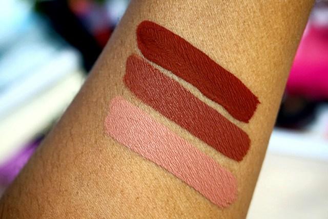 ColourPop x Karrueche Rooch, Kae, Chi Ultra Matte Liquid Lipsticks