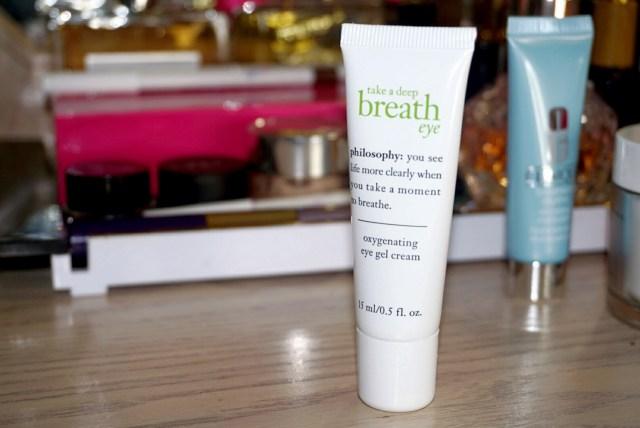 Philosophy Take a Deep Breath Oxygenating Eye Gel Cream