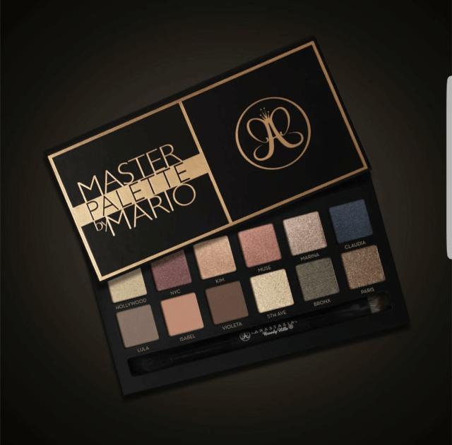 Anastasia Beverly Hills Master Palette by Mario Sneak Peek