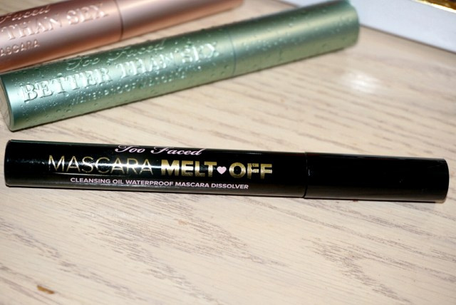 Too Faced Mascara Melt Off Cleansing Oil Review