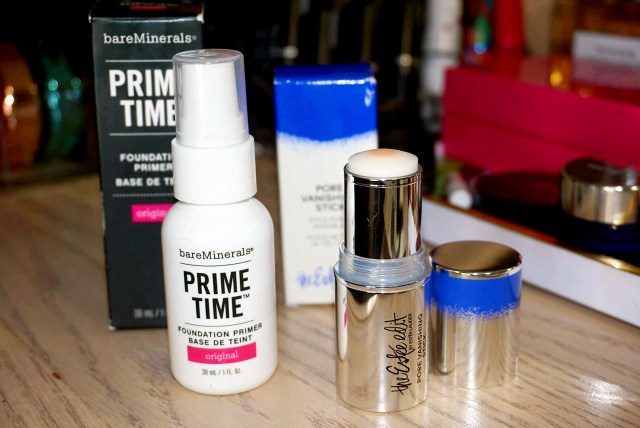 Bare Minerals Prime Time Original, Estee Edit Pore Vanishing Stick