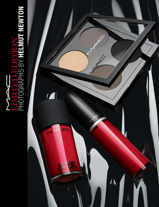 MAC x Helmut Newton Collection for Fall 2016