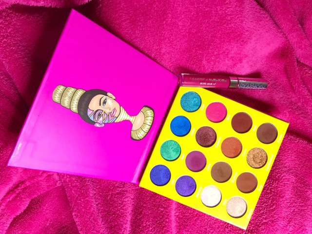 Juvia's Place Mini Masquerade Palette and ColourPop x Hello Kitty Lock Diary Ultra Matte Lip