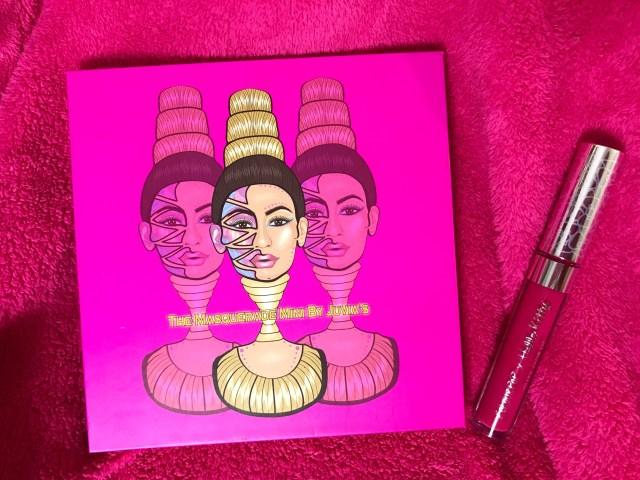 Juvia's Place Mini Masquerade Palette and ColourPop x Hello Kitty Lock Diary Ultra Matte Lip