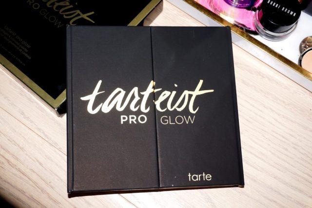 Tarte Tarteist Pro Glow Palette Swatches on Dark Skin