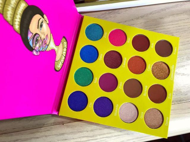 Project BOMB: Juvia's Place Mini Masquerade Eyeshadow Palette