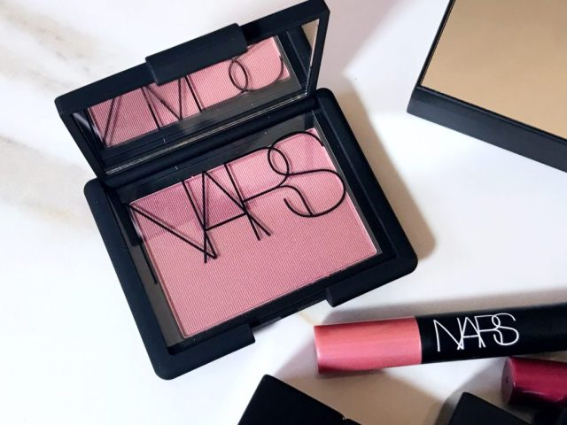 NARS Sin Blush Swatches on Dark Skin