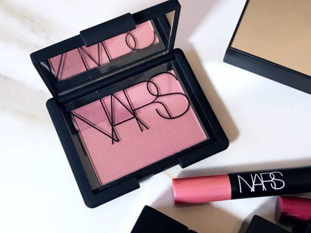 NARS Sin Blush Swatches on Dark Skin