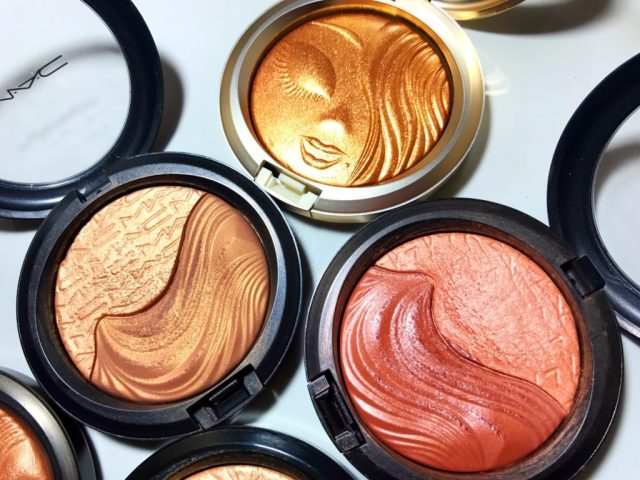 MAC My Mimi Extra Dimension Skinfinish, Double Definition Extra Dimension Skinfinish, Shape the Future Extra Dimension Skinfinish