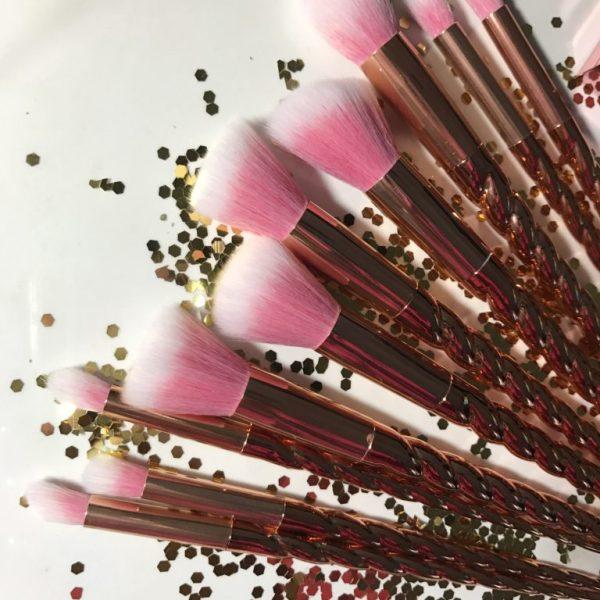 Blog Sale: Rose Gold Unicorn Makeup Brush Set