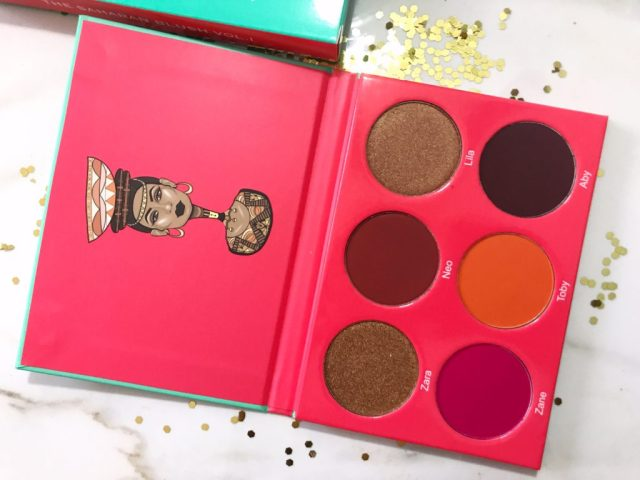 Juvia's Place Saharan Blush Palette Volume I Swatches on Dark Skin