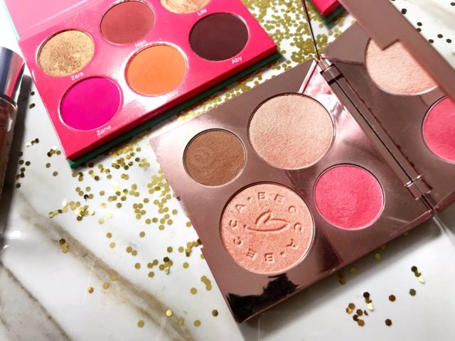Fancie Faves: Becca x Chrissy Teigen Glow Face Palette, Juvia's Place Saharan Blush Palette Volume I