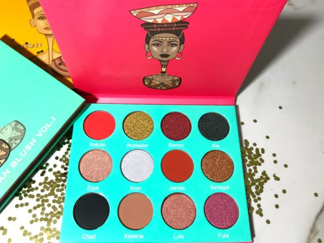 Juvia's Place Saharan Eyeshadow Palette Swatches on Dark Skin