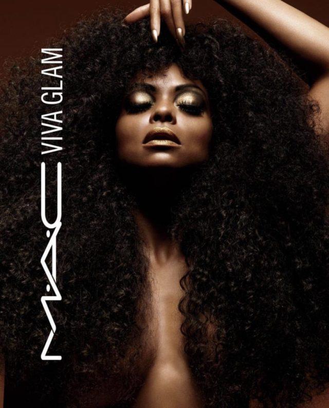 MAC x Viva Glam Taraji P. Henson Collection for fall 2017