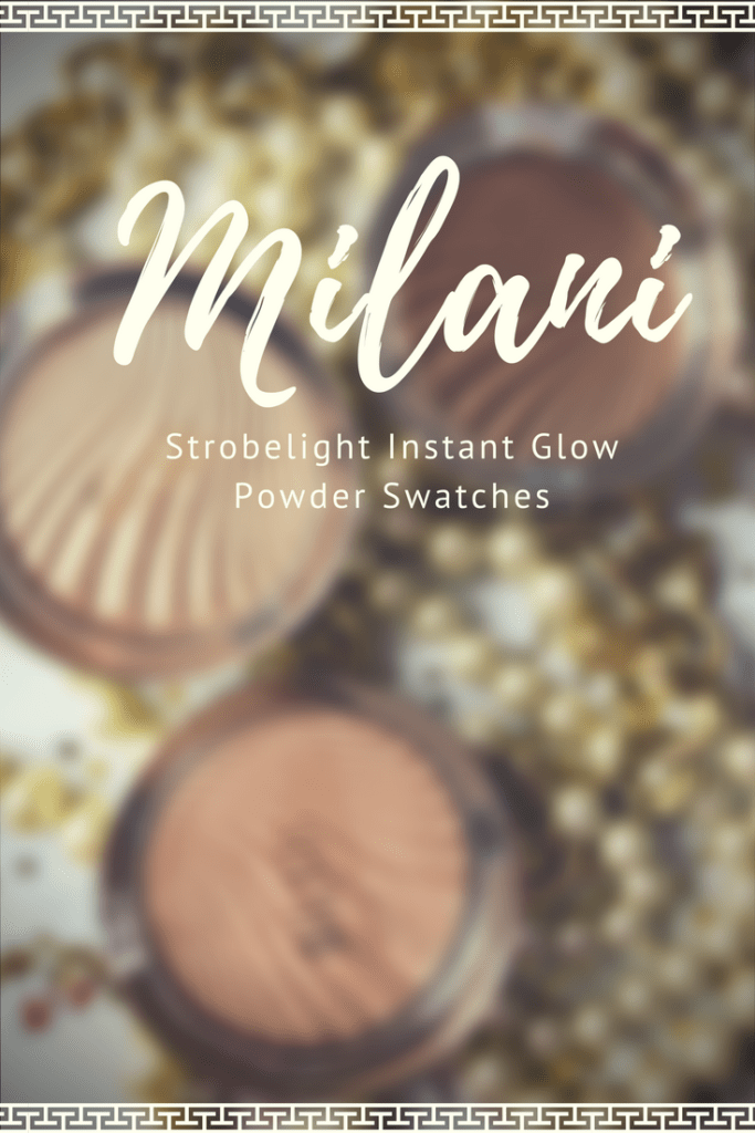 Milani Strobelight Instant Glow Powder Swatches