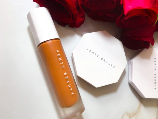 Fenty Beauty Pro Filt'r Foundation 420 Review Swatches on Dark Skin Fancieland