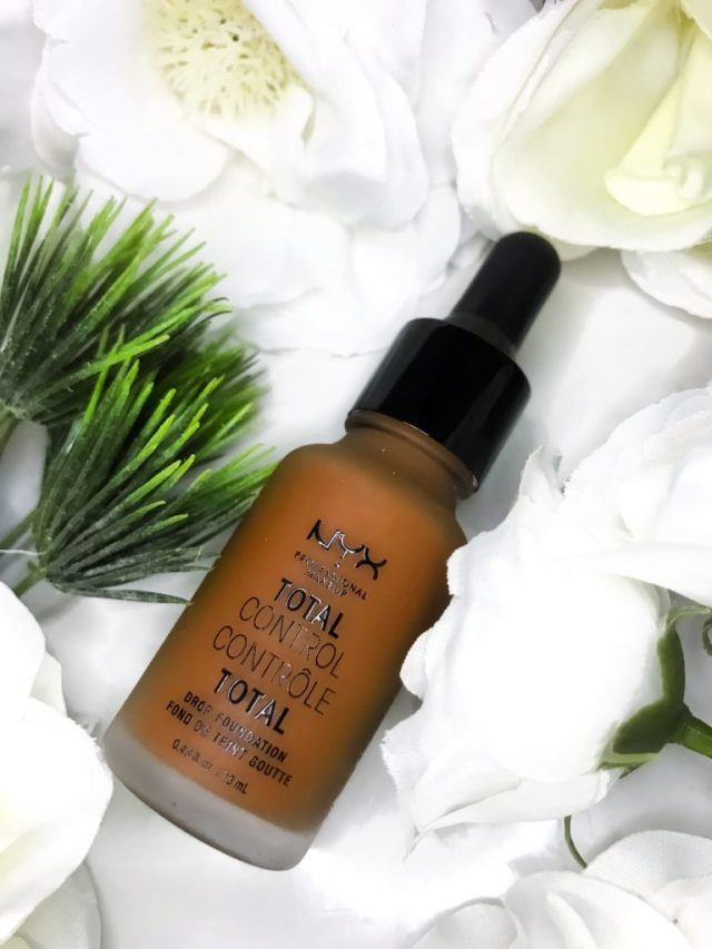 Affordable Foundations for Beginners: NYX Total Control Drop Foundation