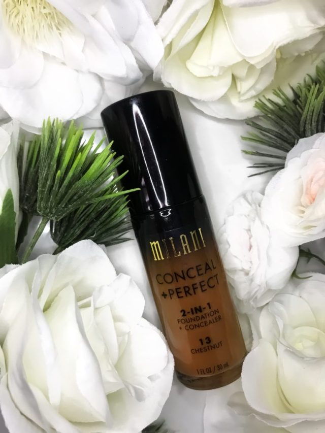 Affordable Foundations for Beginners: Milani Conceal Perfect 2-in-1 Foundation Concealer