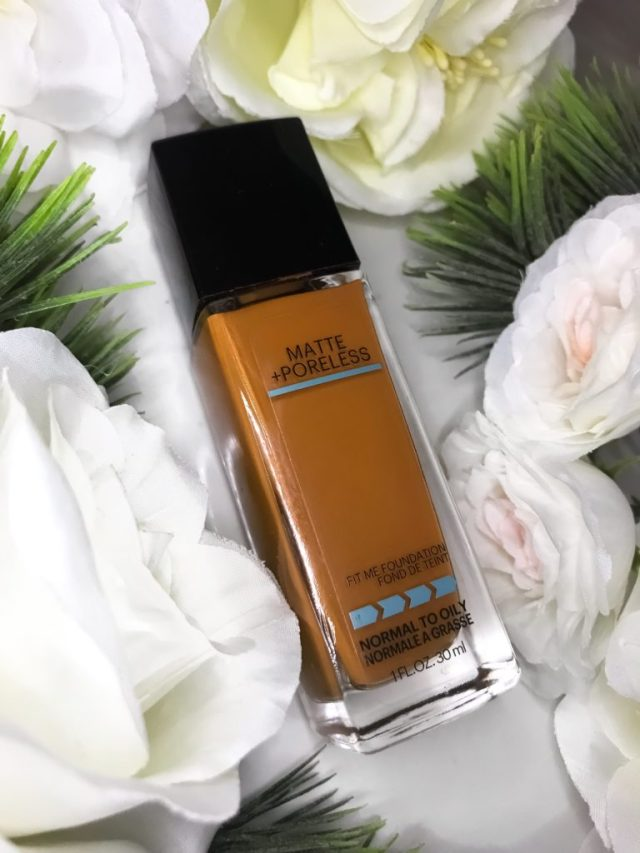 Affordable Foundations for Beginners: Maybelline Fit Me Matte Poreless Foundation