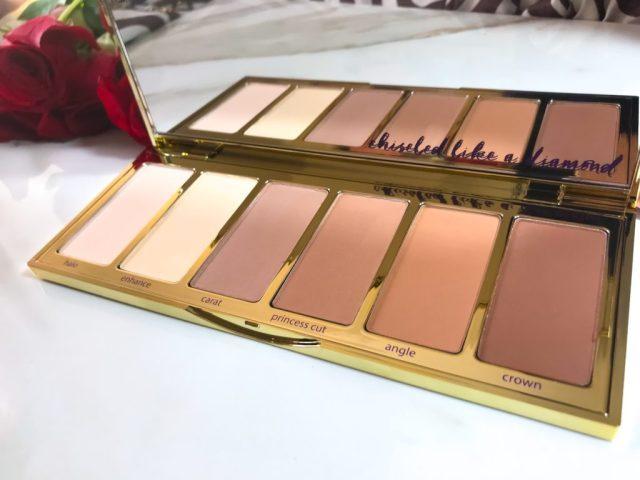 Tarte Park Ave Princess Chisel Palette Swatches Review Dark Skin Brown Skin
