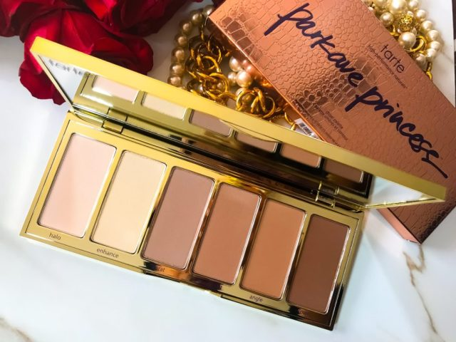 Tarte Park Ave Princess Chisel Palette Swatches Review Dark Skin Brown Skin