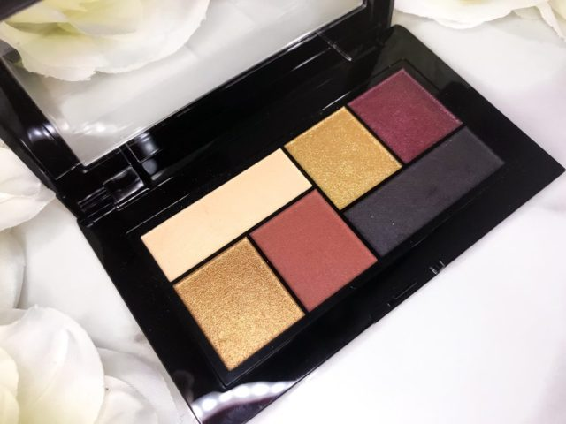 Maybelline x Shayla City Mini Eyeshadow Palette Swatches on Dark Skin