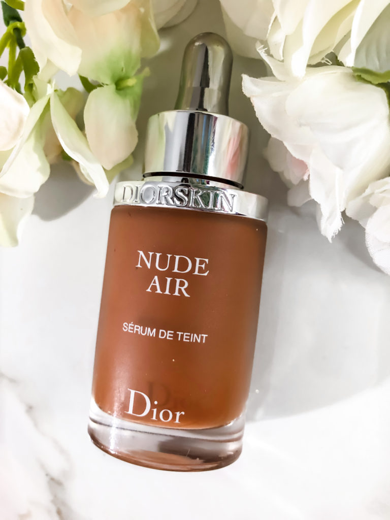 Dior DiorSkin Nude Air Serum Foundation Swatches + Review