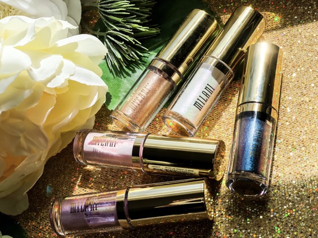 Milani Hypnotic Lights Eye Toppers Swatches Review on Dark Skin