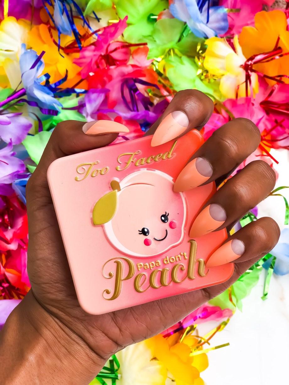 Manicure Monday Orange Claire's Press On Nails
