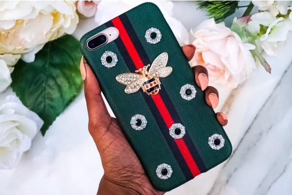 iPhone G Supreme Queen Luxury Fashion Case Bee