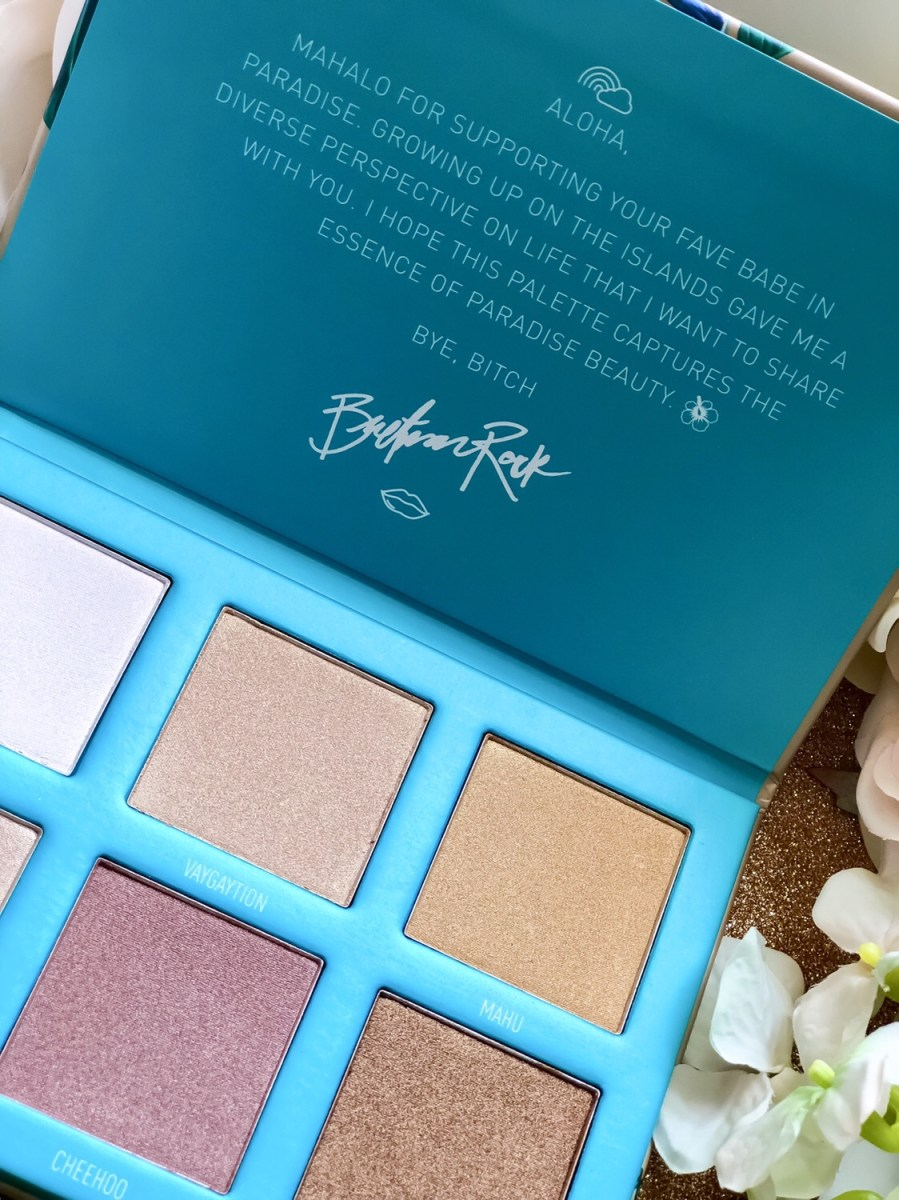 You're Bound to Bling with the Morphe x Bretman Rock Babe In Paradise Highlight Palette!