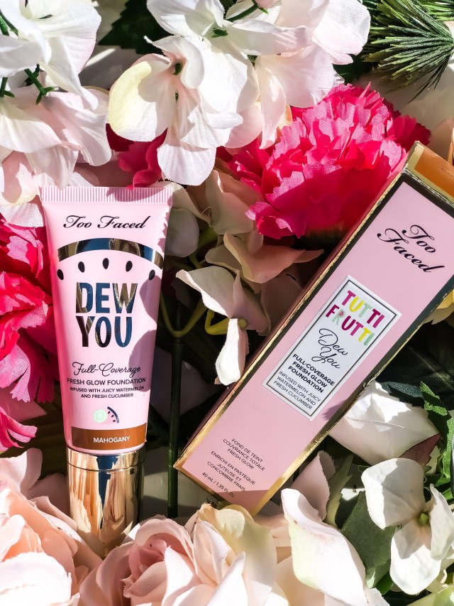 Too Faced Tutti Frutti Collection Dew You Fresh Glow Foundation in Mahogany