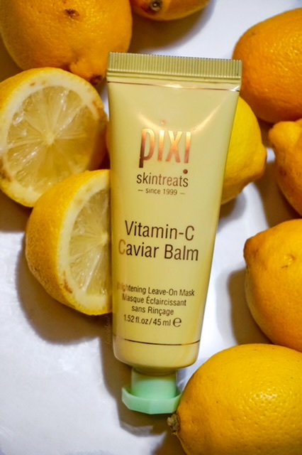Pixi Skintreats Vitamin-C Caviar Balm Brightening Leave On Mask Review