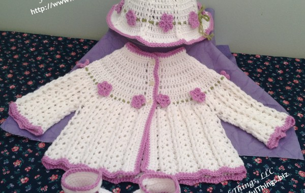 In the Garden Baby Outfit