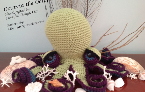 Octavia the Octopus crochet amigurumi