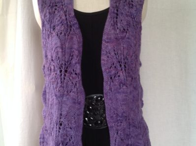 Lily of the Valley Vest front view