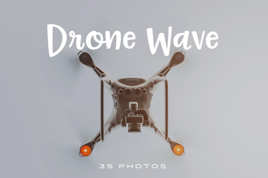 Drone-Wave-photo-pack