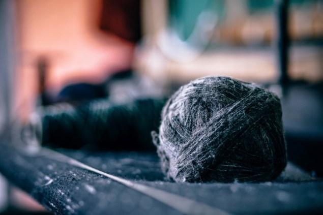 Fuzzy Thread Ball