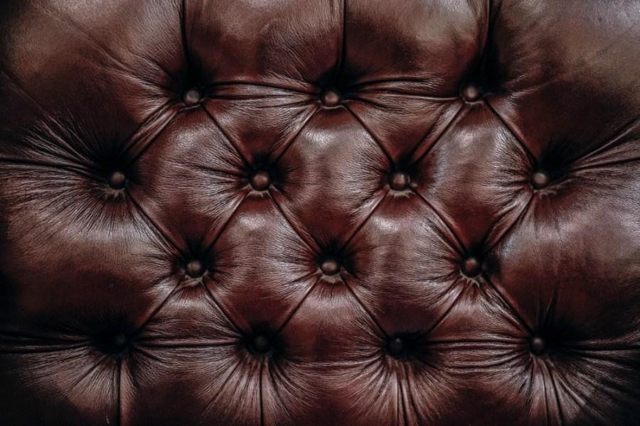 Leather Sofa Background.