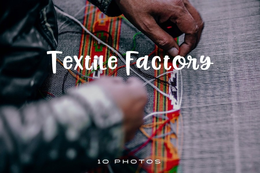Textile manufacturing is a major industry. It is based on the conversion of fibre into yarn, yarn into fabric. These are then dyed or printed, fabricated into