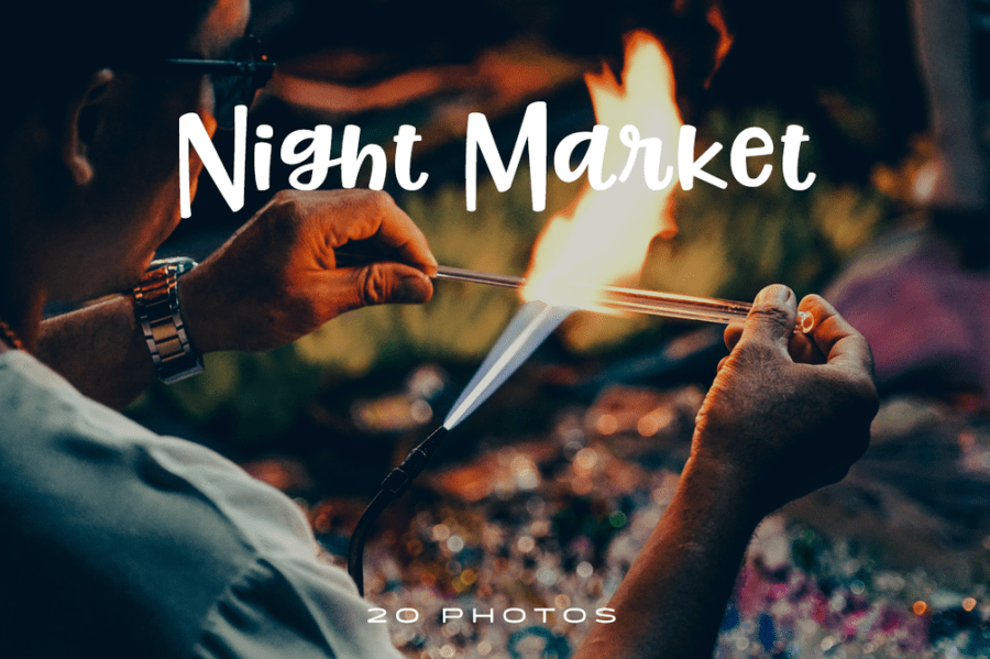 Chiang Mai, Thailand is famous for their night markets. Live out the exciting and colorful world of Chiang Mai night bazaar in this premium photo pack.