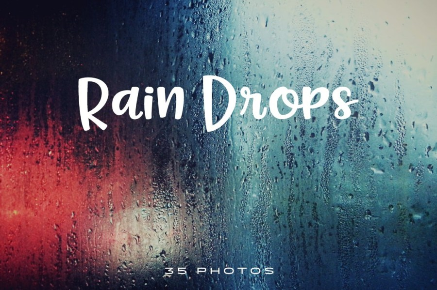 Rain-Drops-Photo-Pack