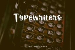 Typewriter Photo Pack