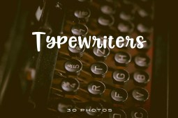 Typewriters-Photo-pack